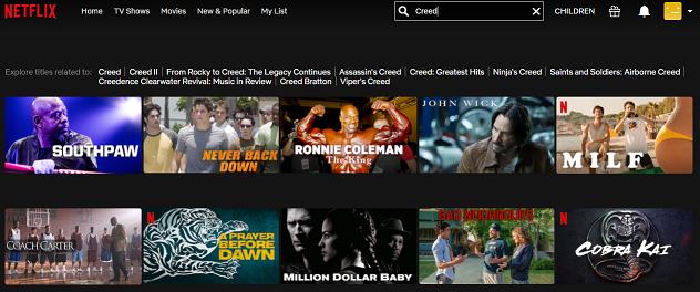 Watch Creed (2015) on Netflix 1