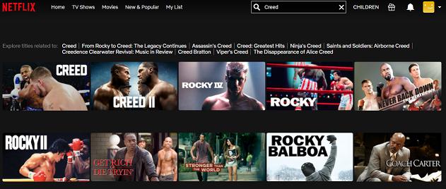 Watch Creed (2015) on Netflix 2