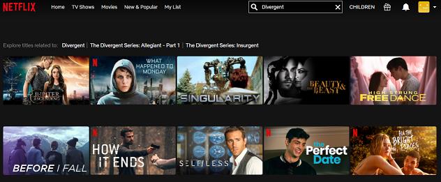 Watch Divergent (2014) on Netflix 1