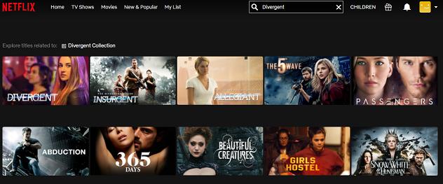 Watch Divergent (2014) on Netflix 2