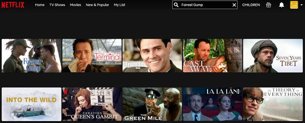 Watch Forrest Gump (1994) on Netflix 2