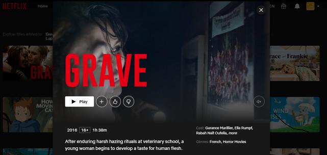 Watch Grave (2016) on Netflix 3
