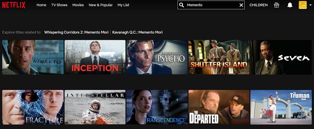 Watch Memento (2000) on Netflix 2