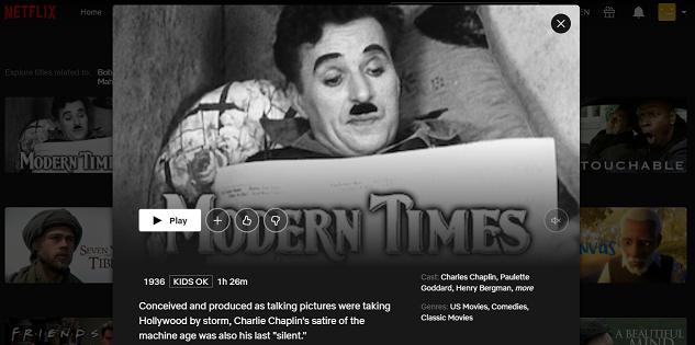 Watch Modern Times (1936) on Netflix 3