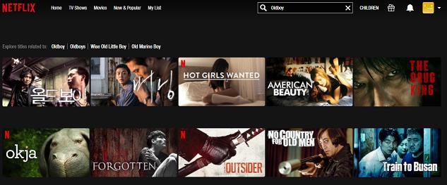 Watch Oldboy (2003) on Netflix 2