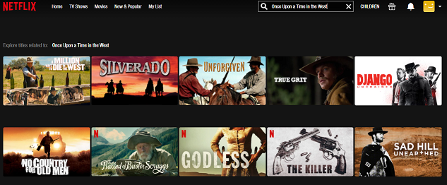 Watch Once Upon a Time in the West (1968) on Netflix 1
