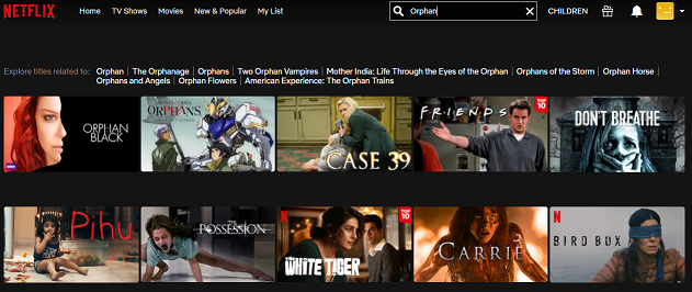 Watch Orphan (2009) on Netflix 1