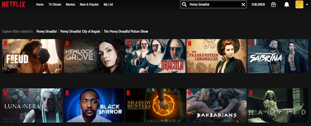 Watch Penny Dreadful all 3 Seasons on Netflix 1