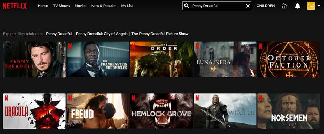 Watch Penny Dreadful all 3 Seasons on Netflix 2