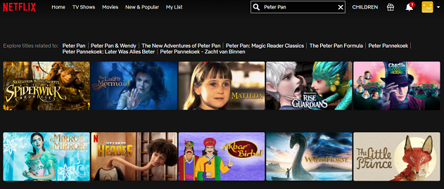 Watch Peter Pan (2003) on Netflix 1