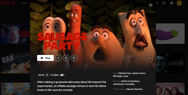 Watch Sausage Party (2016) on Netflix 3