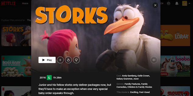 Watch Storks (2016) on Netflix 3