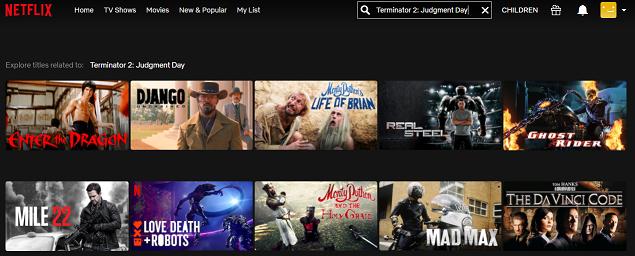 Watch Terminator 2- Judgment Day (1991) on Netflix 1