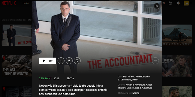 Watch The Accountant (2016) on Netflix 3