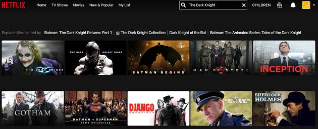 Watch The Dark Knight (2008) on Netflix 2