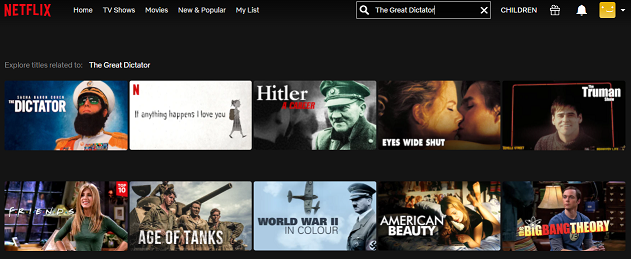Watch The Great Dictator (1940) on Netflix 1