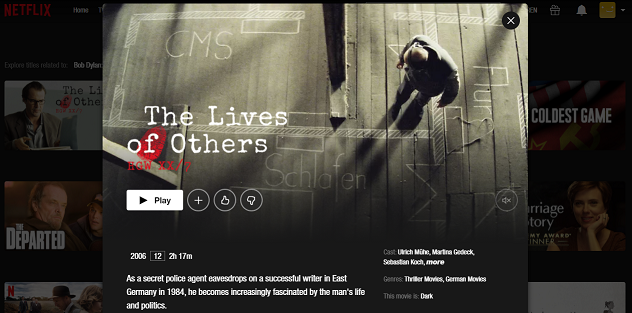 Watch The Lives of Others (2006) on Netflix 3
