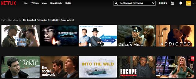 Watch The Shawshank Redemption (1994) on Netflix 1