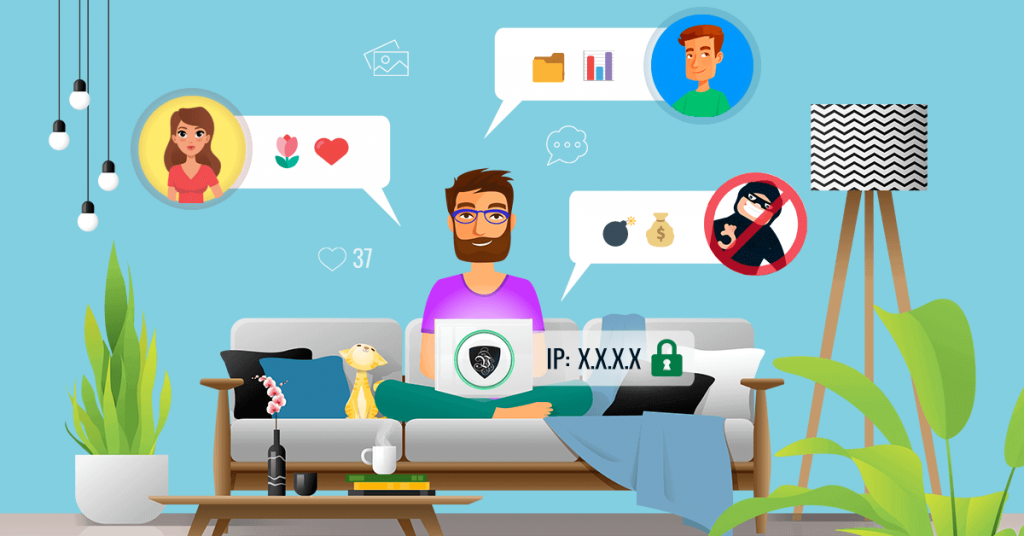 Keep your online chat private with VPN