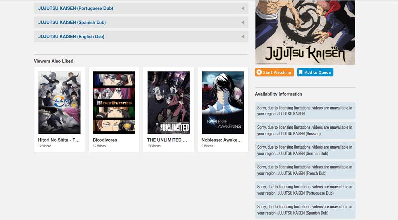 Unblock anime on Crunchyroll 1