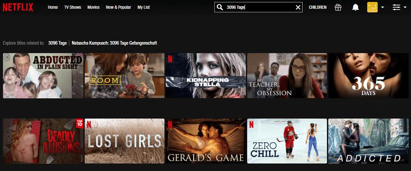 Watch 3096 Tage (2013) on Netflix 1