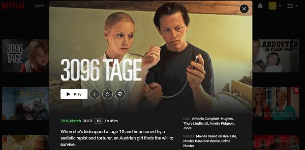 Watch 3096 Tage (2013) on Netflix 3