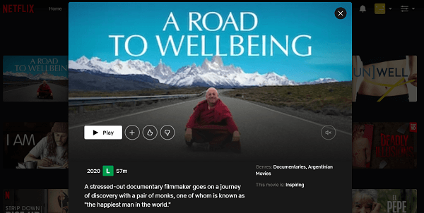 Watch A Road To Wellbeing (2020) on Netflix 3