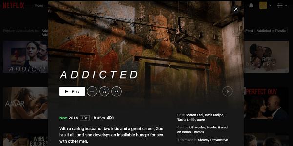 Watch Addicted (2014) on Netflix 3