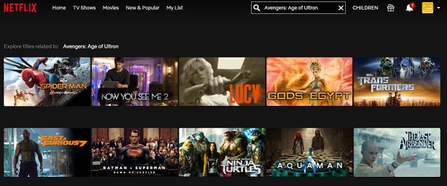 Watch Avengers - Age of Ultron (2015) on Netflix 1