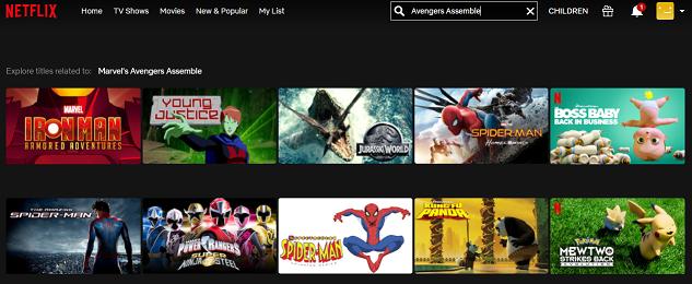 Watch Avengers Assemble (2012) on Netflix 1