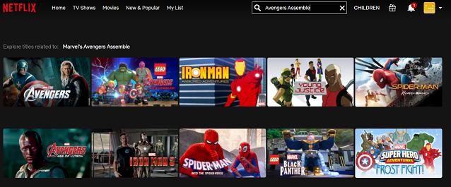 Watch Avengers Assemble (2012) on Netflix 2