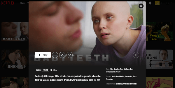 Watch Babyteeth (2020) on Netflix 3