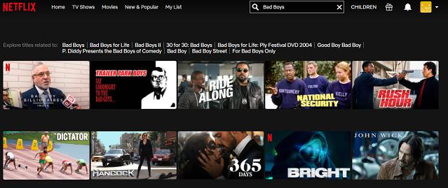 Watch Bad Boys (1995) on Netflix 1