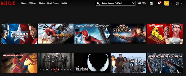 Watch Captain America - Civil War (2016) on Netflix 2