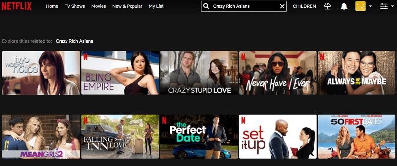 Watch Crazy Rich Asians (2018) on Netflix 1