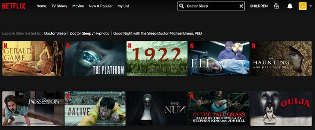 Watch Doctor Sleep (2019) on Netflix 1