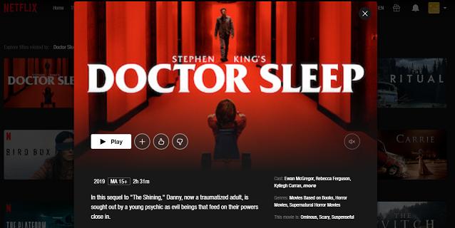 Watch Doctor Sleep (2019) on Netflix 3