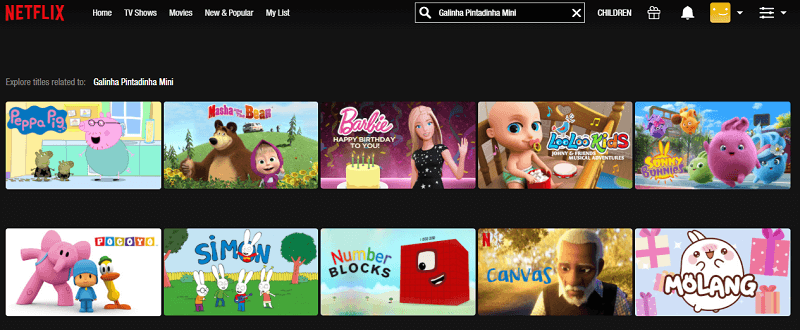 Watch Galinha Pintadinha Mini on Netflix 1