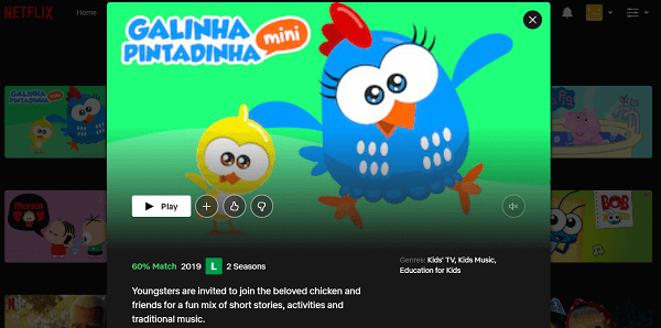 Watch Galinha Pintadinha Mini on Netflix 3