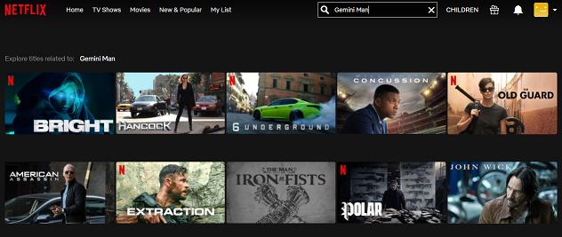 Watch Gemini Man (2019) on Netflix 1