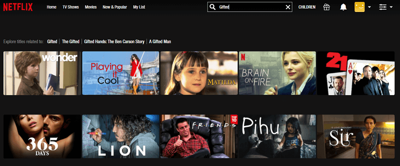 Watch Gifted (2017) on Netflix 1