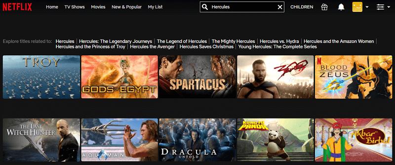 Watch Hercules (2014) on Netflix 1