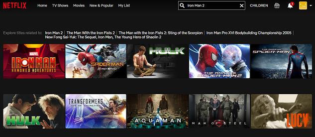 Watch Iron Man 2 (2010) on Netflix 1