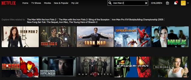 Watch Iron Man 2 (2010) on Netflix 2