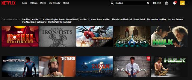 Watch Iron Man (2008) on Netflix 1