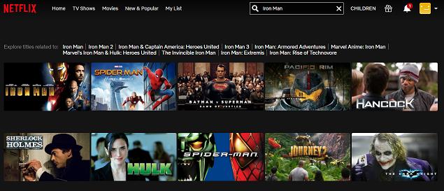 Watch Iron Man (2008) on Netflix 2
