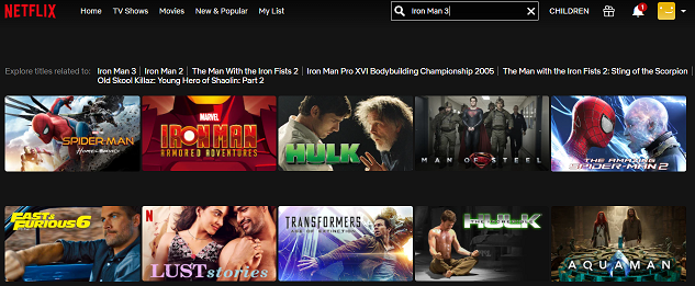 Watch Iron Man 3 (2013) on Netflix 1