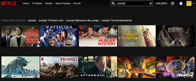 Watch Jumanji (1995) on Netflix 1