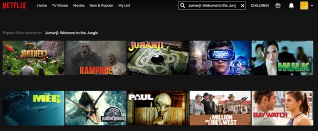 Watch Jumanji - Welcome to the Jungle (2017) on Netflix 1