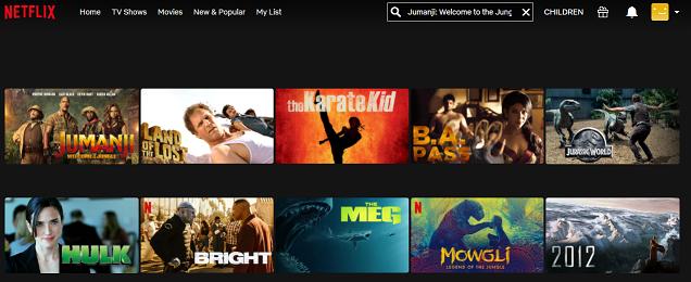 Watch Jumanji - Welcome to the Jungle (2017) on Netflix 2